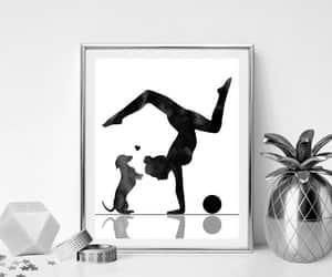 etsy, yoga room decor, and meditation art image