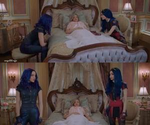 audrey, evie, and princess image