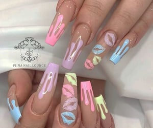 aesthetic, girls, and long nails image