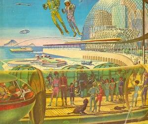 future, Retro Futurism, and retro future image