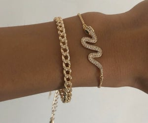 accessories, bracelets, and classy image