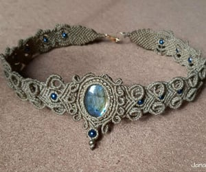 handmade, jewels, and chocker image
