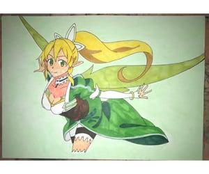 anime, ソードアートオンライン, and art image