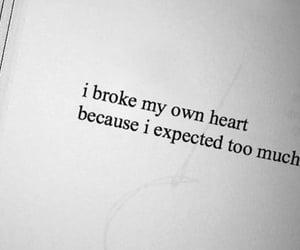broke, broken, and deep image