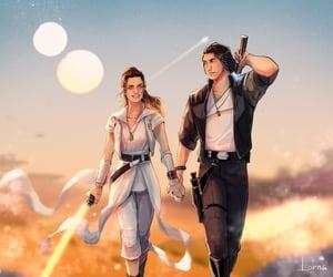 art, star wars, and kylo ren image