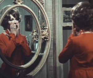 1970s, mirror, and old hollywood image