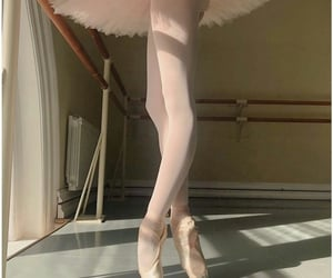 ballerina, long legs, and afternoon light image