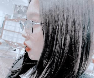 asia, glasses, and hair image