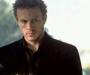 heath ledger, actor, and flowers image
