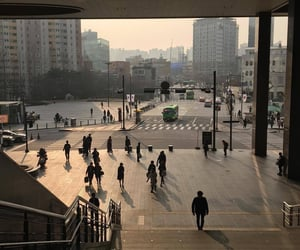 city, aesthetic, and korea image