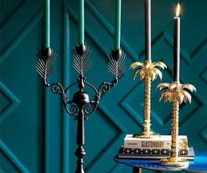 candles, decorations, and candle holders image