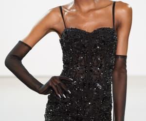 black, diamonds, and runway details image