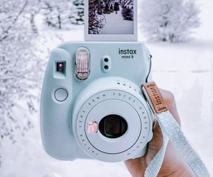 baby blue, camera, and photography image