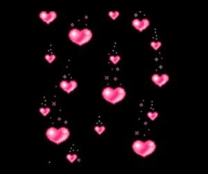 edit, hearts, and editing image
