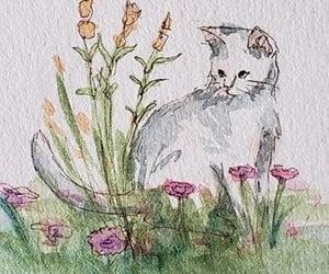 cat, fauna, and flora image