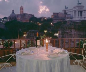 romantic and dinner image