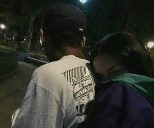 couple, romantic, and casais image