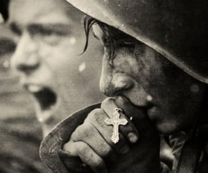 black, war, and old image