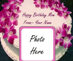 happy birthday cake, red rose birthday cake, and mom wishes personal image