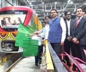 india, metro, and mumbai image