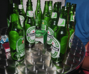 beer, heineken, and party image