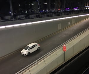 night, saudi arabia, and street image