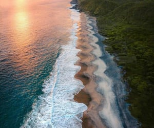 beach, mexico, and travel image