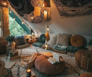 aesthetic, cosy, and girly image