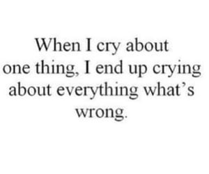 quotes, crying, and sad image