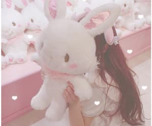 doll, girl, and pink image