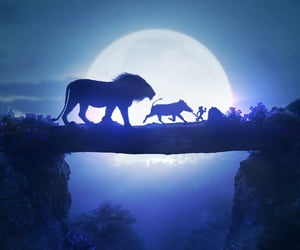 digital art and the lion king image