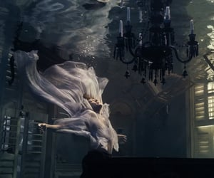 falling, music, and piano image