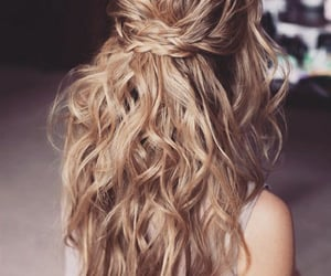 beauty, fashion, and hairstyle image