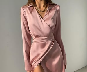 boss, dress, and pink image