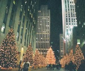 christmas, new york, and nyc image