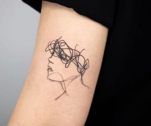 tattoo, cool, and small tattoo image