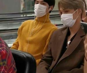 airport, boys, and korean image