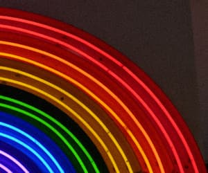 banner, electric, and light image