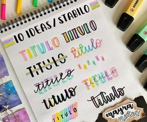 colours, letra, and lettering image