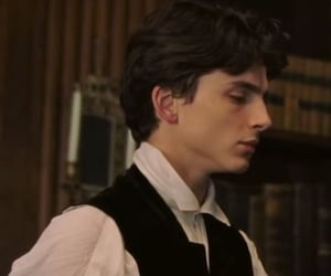 little women, movie, and timothee chalamet image