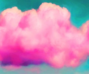 bubblegum, clouds, and hipster image