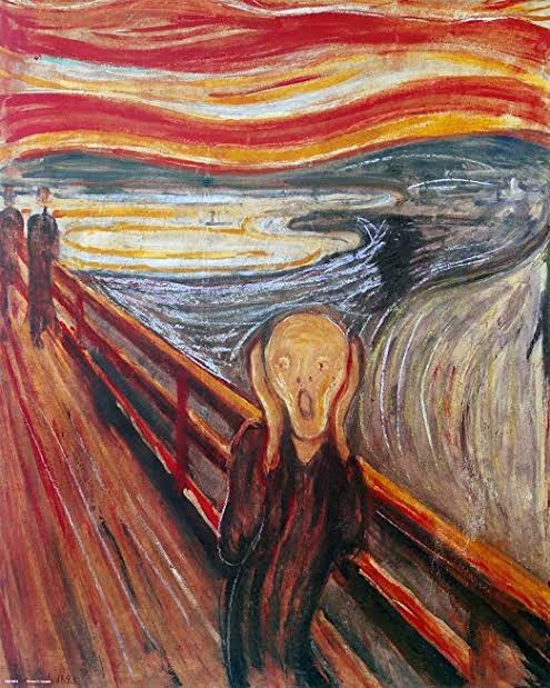 aesthetic, edvard munch, and art image