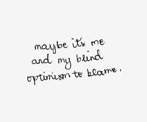 Lyrics, quotes, and optimism image