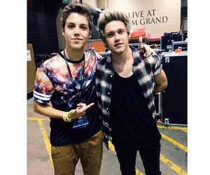 niall horan and matthew espinosa image