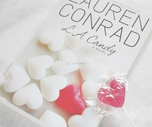 heart, book, and l.a.candy image
