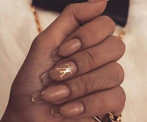 chic, nails, and glam image
