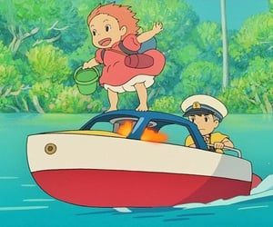 anime, studio ghibli, and ponyo image
