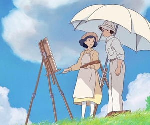 anime, the wind rises, and ghibli image