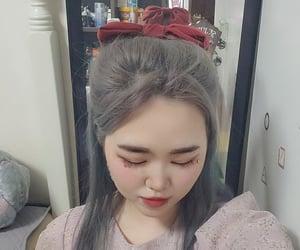 girl, piercing, and ribbon image