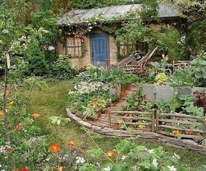 aesthetic, garden, and cottage core image